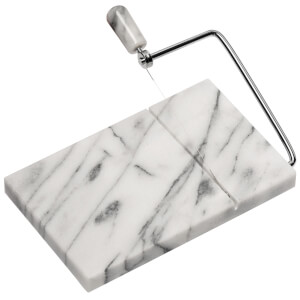 Premier Housewares Cheese Slicer - White Marble