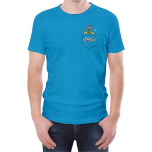 T-Shirt Homme Xisuma Pocket Protector -Bleu
