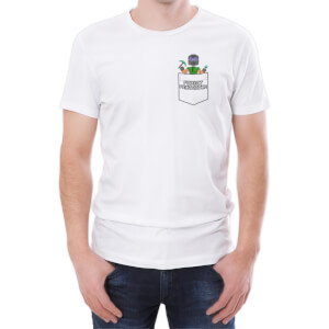 Xisuma Pocket Protector White T-Shirt