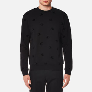 McQ Alexander McQueen Men's Swallow Sweatshirt - Darkest Black