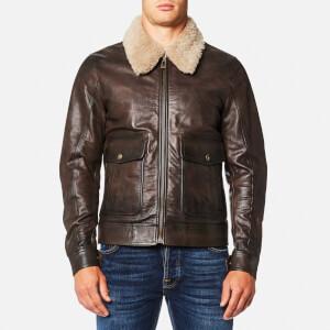 Belstaff Men's Mentmore Blouson Jacket - Black/Brown