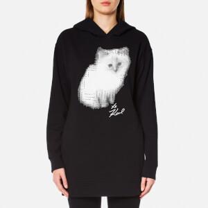 Karl Lagerfeld Women's Choupette Sweatshirt - Black