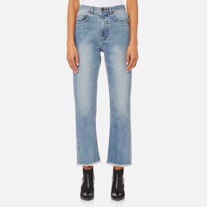 A.P.C. Women's A Franges Jeans - Indigo