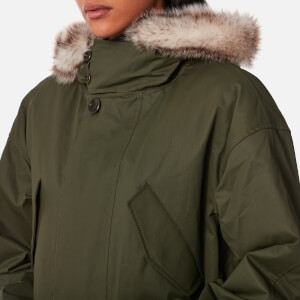 A.P.C. Women's Gloria Parka - Dark Green: Image 4