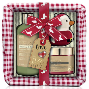 Baylis & Harding Fuzzy Duck Christmas Small Basket Set