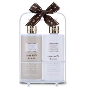 Baylis & Harding La Maison Creme Brulee and Cocoa 2 Bottle Set