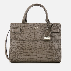 Guess Women's Cate Satchel - Taupe