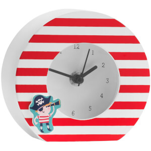 Premier Housewares Pirate Table Clock