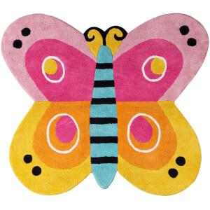 Premier Housewares Kids Butterfly Rug