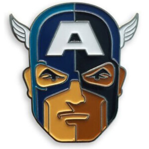 Mondo Captain America Enamel Pin