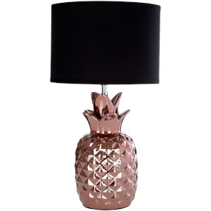 Fifty Five South Wendi Table Lamp - Copper/Black