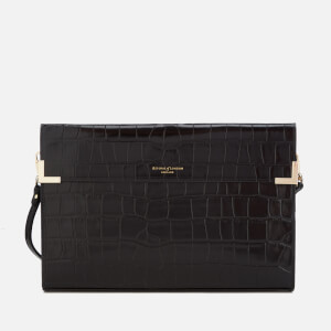 Aspinal of London Women's Editors Clutch Bag - Black