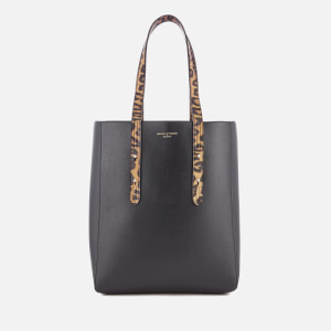Aspinal of London Women's Essential Tote Bag - Leopard/Black