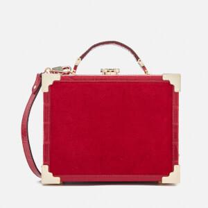 Aspinal of London Women's Mini Trunk Clutch Bag - Scarlet