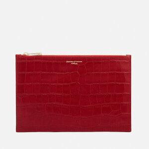 Aspinal of London Women's Essential Large Pouch Bag - Red