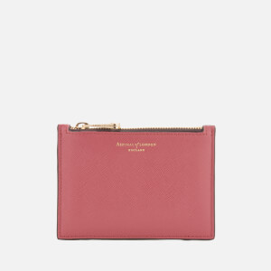 Aspinal of London Women's Essential Small Pouch Bag - Blusher/Grape