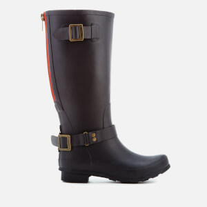 Joules Women's Premium Biker Wellies - Black