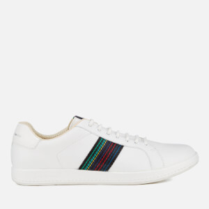 PS by Paul Smith Men's Lapin Leather Trainers - White