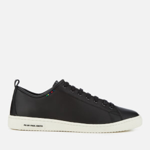 PS by Paul Smith Men's Miyata Leather Trainers - Black