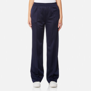 MSGM Women's Wide Leg Tracksuit Trousers - Navy