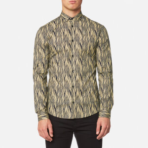 Versace Collection Men's Shirt - Blu/Stampa