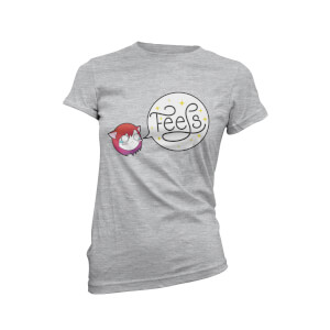 Feels Women's Grey T-Shirt