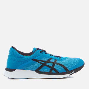 Asics Men's Running FuzeX Rush Trainers - Aqua Splash/Black/Diva Blue