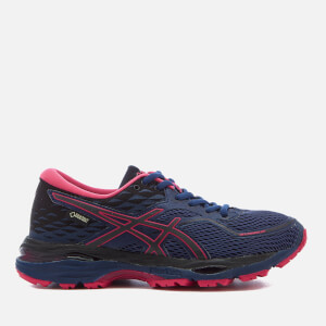 Asics Running Women's Gel Cumulus 19 GTX Winter Running Trainers - Indigo Blue/Black/Cosmo Pink