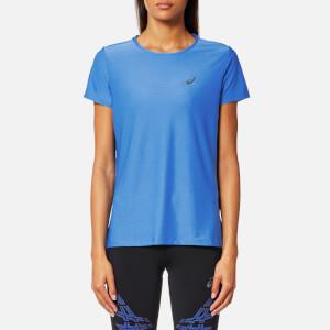 Asics Women's Short Sleeve Top - Regatta Blue