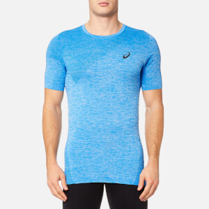 Asics Men's Seamless Top - Directoire Blue