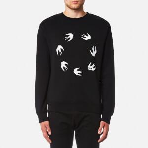 McQ Alexander McQueen Men's Swallow Circle Sweatshirt - Darkest Black