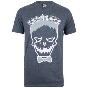 T-Shirt Homme DC Comics Symbole du Joker - Foncé et Chiné