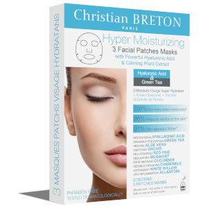 Christian BRETON Hyper Moisturizing Facial Mask 3 x 20ml