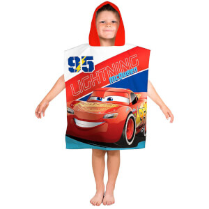 Disney Cars 3 Lightening Poncho Towel