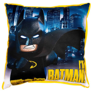 Coussin Réversible Carré LEGO Batman Movie