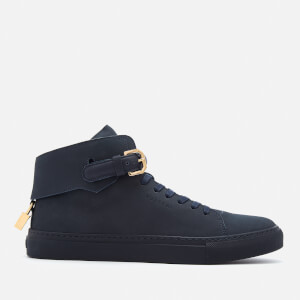 Buscemi Men's 100MM Buckle High Top Trainers - Ocean