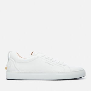 Buscemi Men's Lyndon Low Top Trainers - White