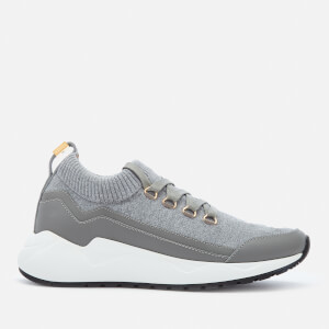 Buscemi Women's Run1 Runner Trainers - Mid Grey/Grey