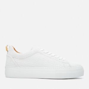 Buscemi Women's Tennis Nubuck Trainers - White