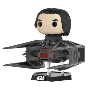 Star Wars Kylo Ren im Tie Fighter Pop! Vinyl Figur