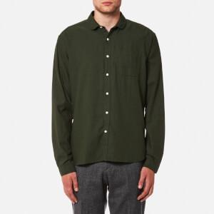 Oliver Spencer Men's Eton Collar Shirt - Cooper Green