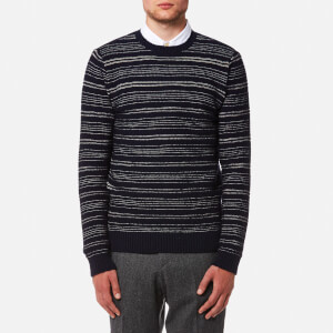 Oliver Spencer Men's Blenheim Crew Neck Jumper - Condor Navy