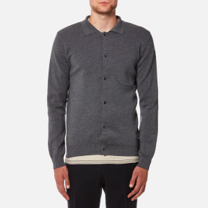 Oliver Spencer Men's Roxwell Knitted Jacket - Brisbane Grey