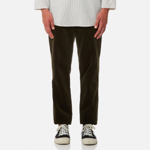 Oliver Spencer Men's Fishtail Cord Trousers - Forest Green