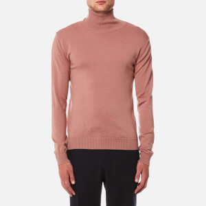 Oliver Spencer Men's Merino Roll Neck Jumper - Westbourne Pink