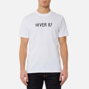 A.P.C. Men's Hiver 87 T-Shirt - Blanc