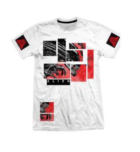 Alien Covenant Abstract Men's White T-Shirt