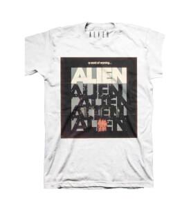 Alien A Word Of Warning... Men's White T Shirt