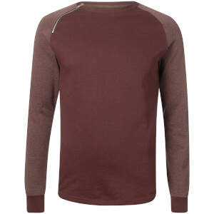 Troy Men's Dan Crew Sweatshirt - Fudge