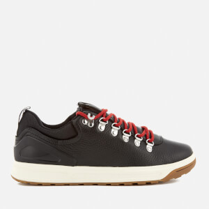 Polo Ralph Lauren Men's Adventure 100 Leather Hiking Trainers - Black